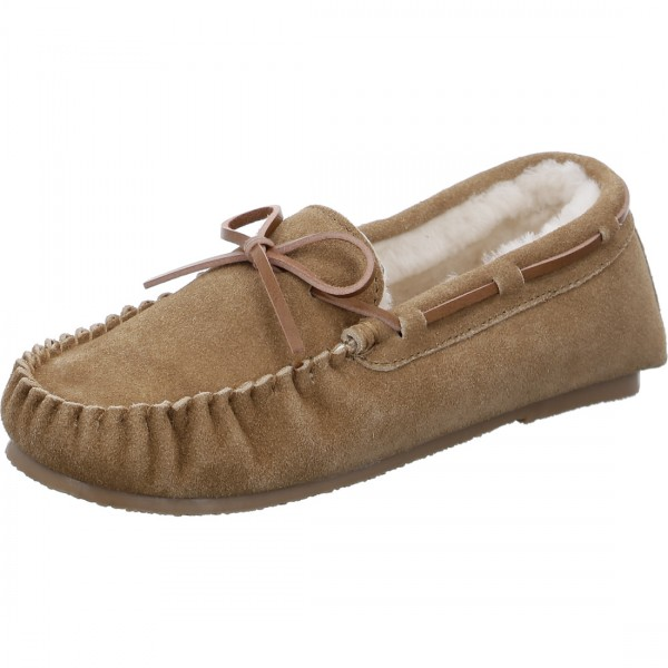 Chaussons Cosy cognac