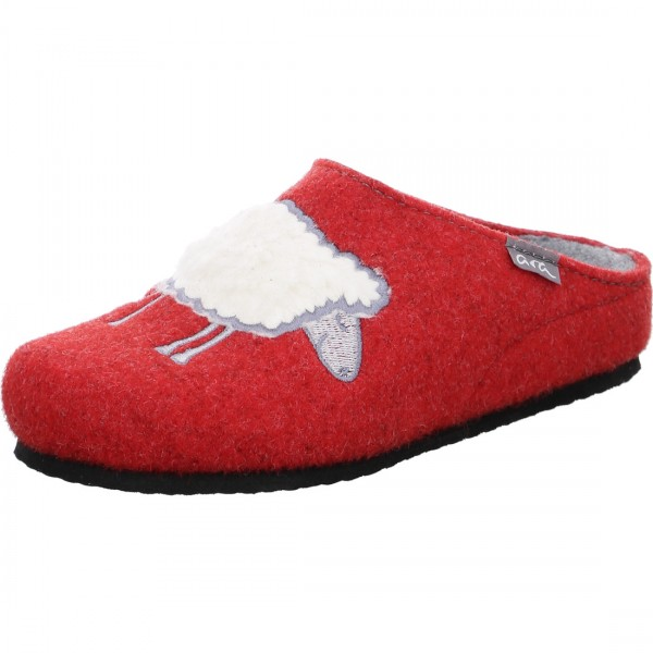 Slippers Cosy red