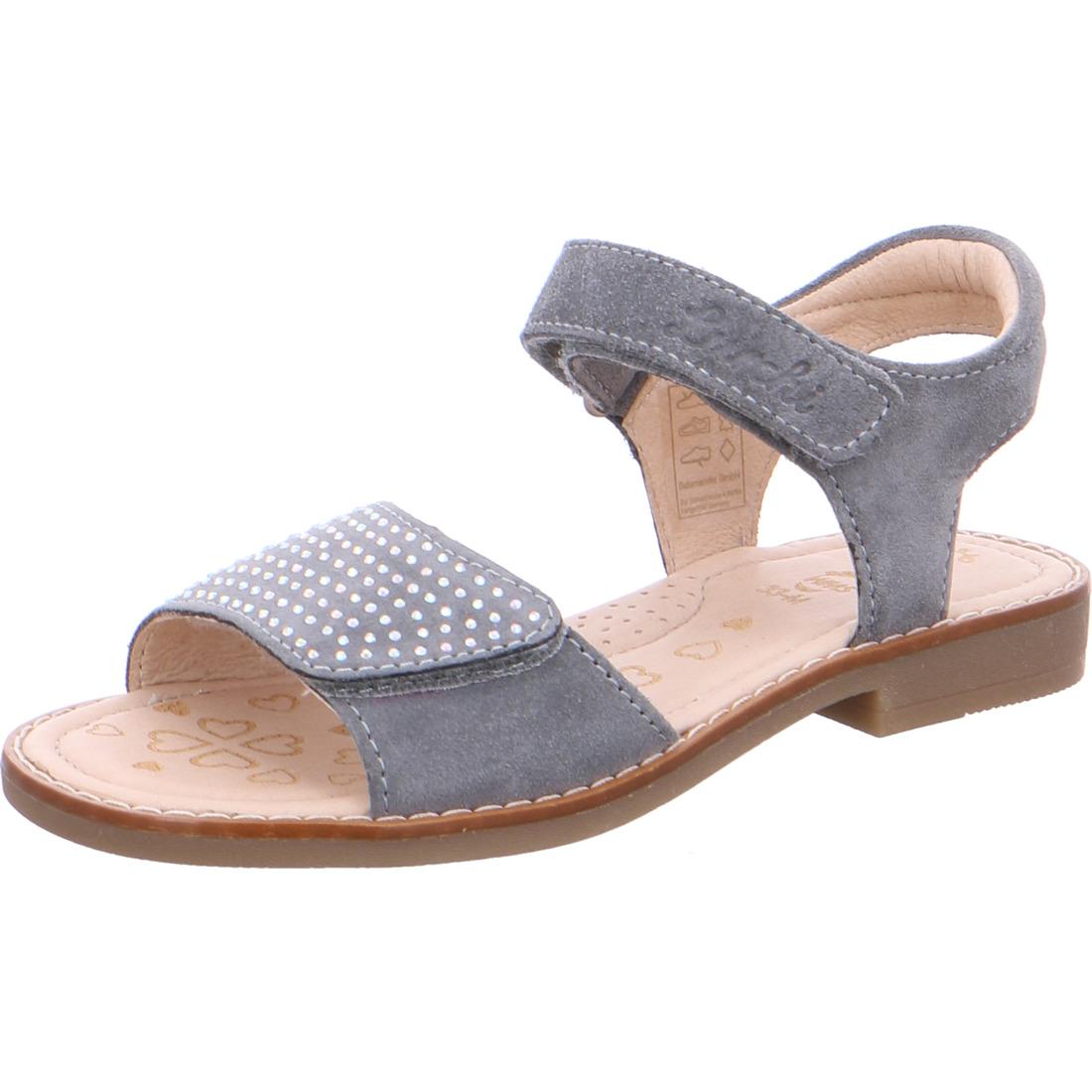 m dchen sandale zuzu grau sandalen pantoletten m dchen lurchi shop. Black Bedroom Furniture Sets. Home Design Ideas