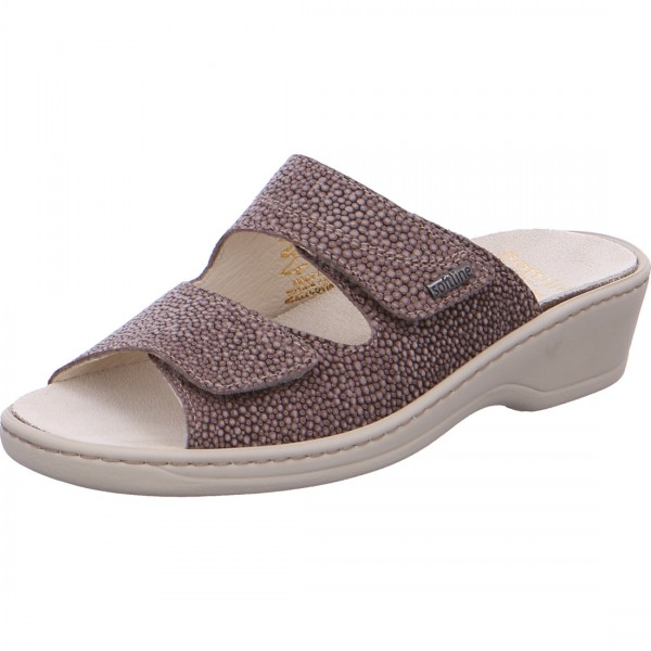 Pantolette Gerti taupe
