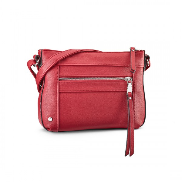 Handtasche Toulouse rot