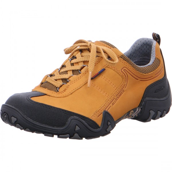 Allrounder lace-up Fina Tex curry