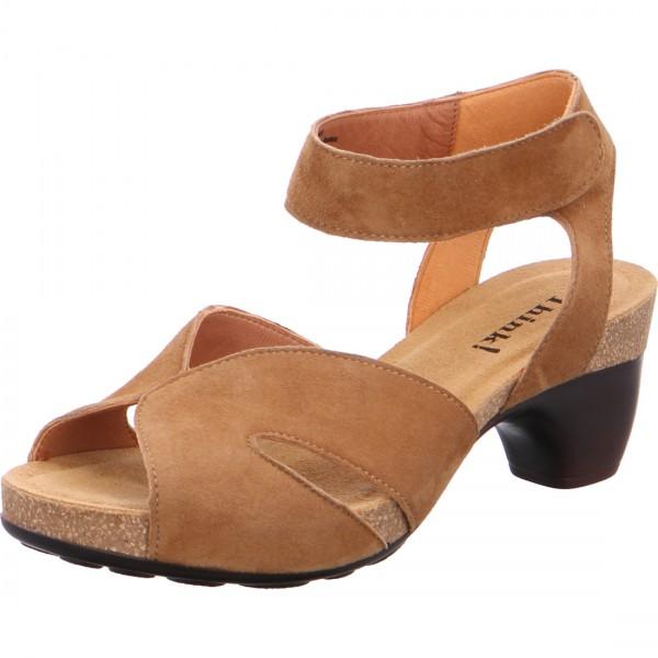 Sandales Traudi cognac.