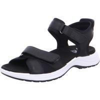 Damen Sandale Panama schwarz