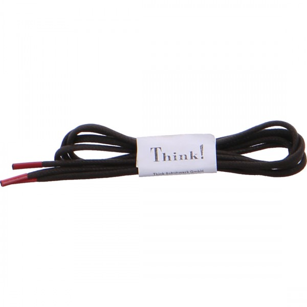 Think shoelace brown