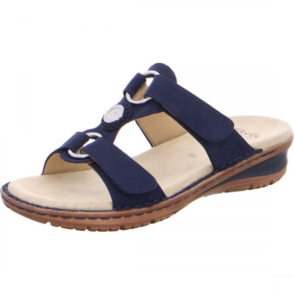 Pantolette Hawaii blau
