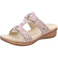 Damen Pantolette Hawaii multi taupe