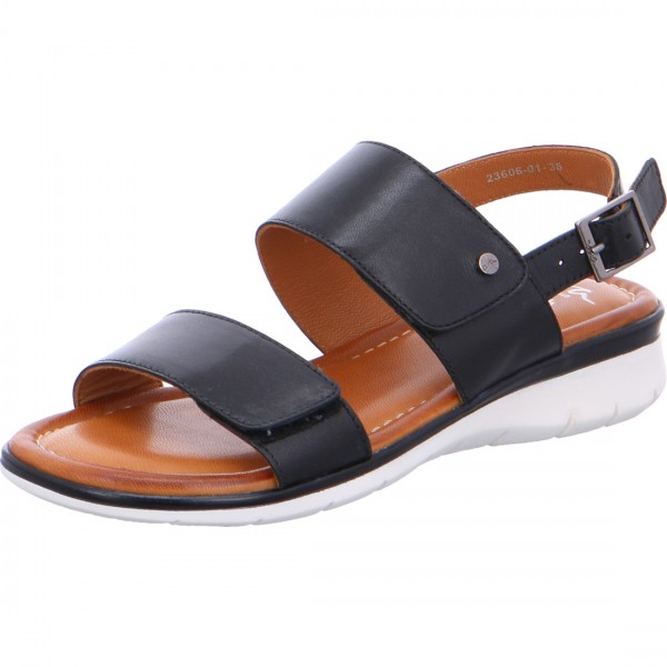 Sandale Kreta schwarz