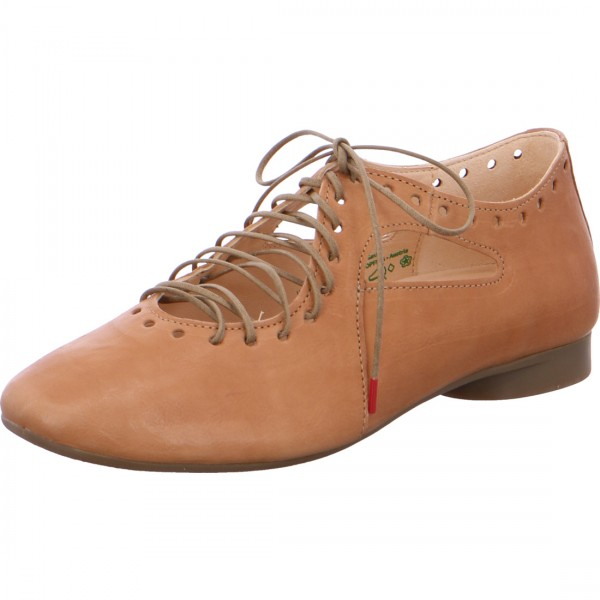 Lace-up Guad light brown