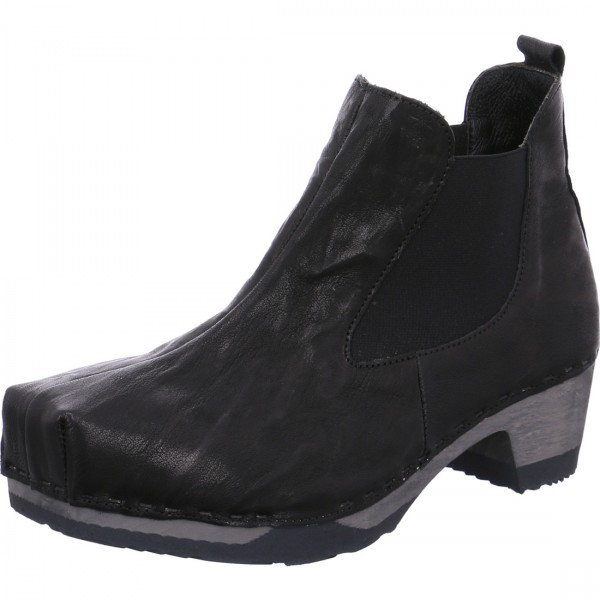 "Think ankle boot ""WOOD"""