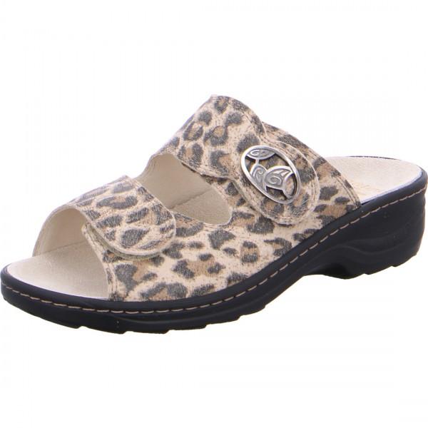 Pantolette Hedi leopard