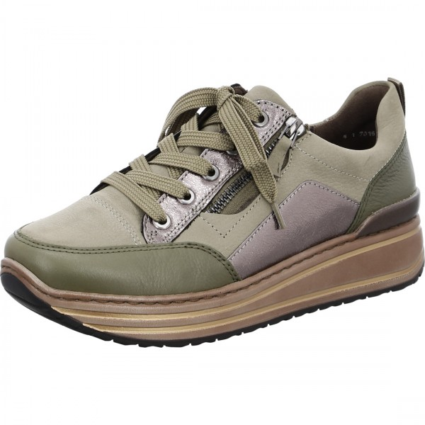 Chaussures lacets Sappor oliv