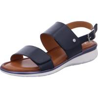 Damen Sandalette Kreta blau