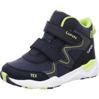 Jungen Stiefel Luke-Tex navy neon