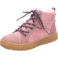 Mädchen Schnürstiefelette YOKA-TEX rosé