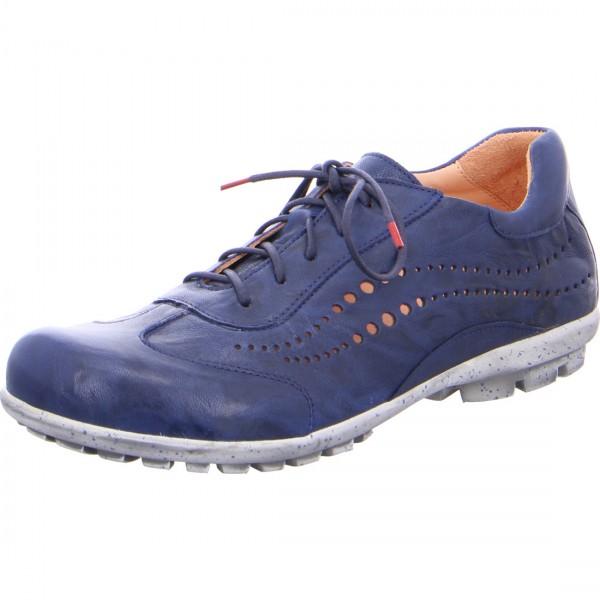 Chaussure à lacets Kong indigo