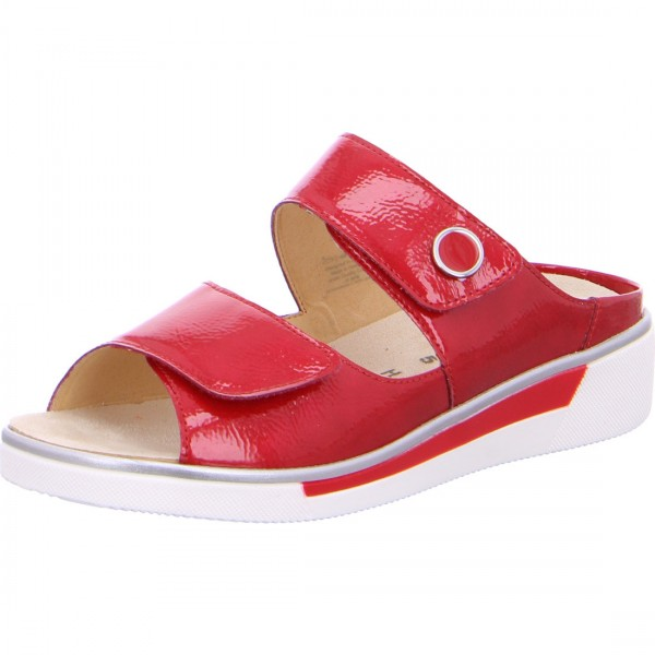 Mules Courtyard rosso