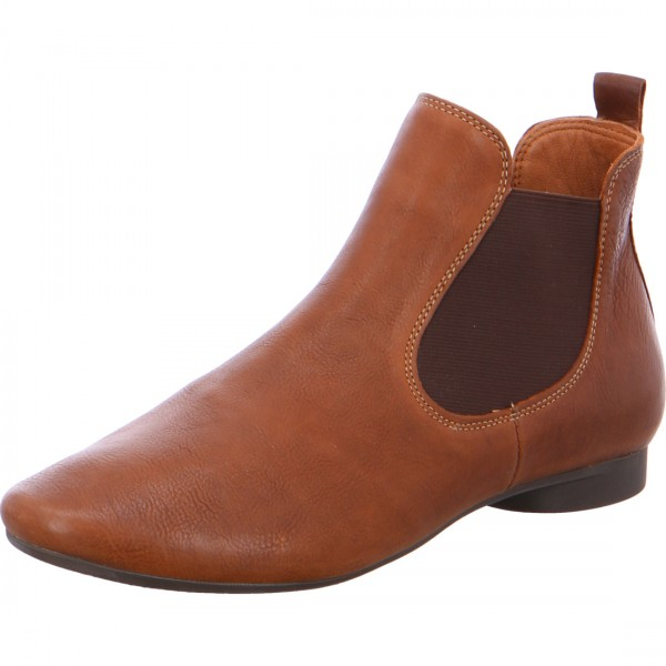 Bottines Guad cognac