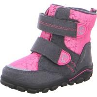 Mädchen Stiefel KEKO-SYMPATEX grau pink