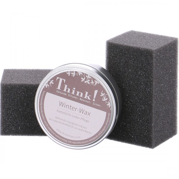 Think winter wax leather care