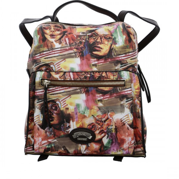 Backpack Princeton cognac