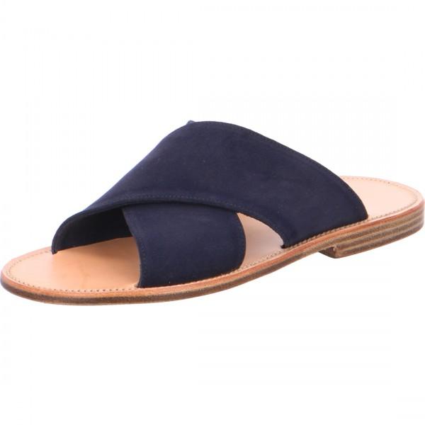 Pantolette Maghrebiner marineblau