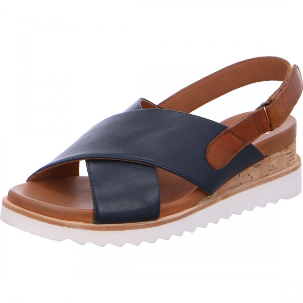 Wedge sandals Valencia blue
