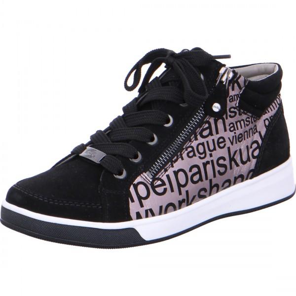 Hightop Sneaker Rom schwarz