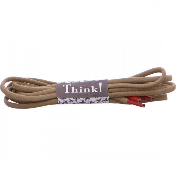 Think shoelace beige