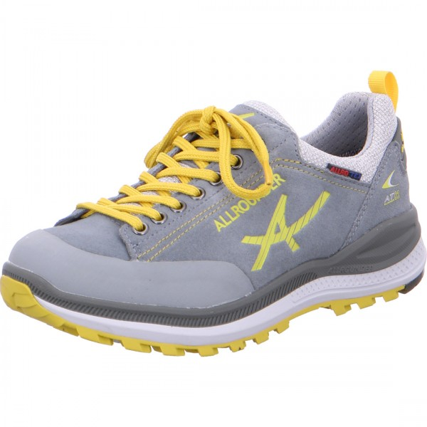Allrounder lace-up Silvretta grey