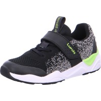 Halbschuh Loiso black neongreen