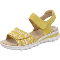 Damen Sandalette Tampa gelb