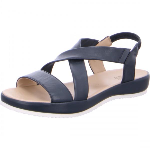 Sandals Dubai blue